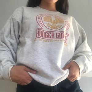 Hanes hunger games sweater!